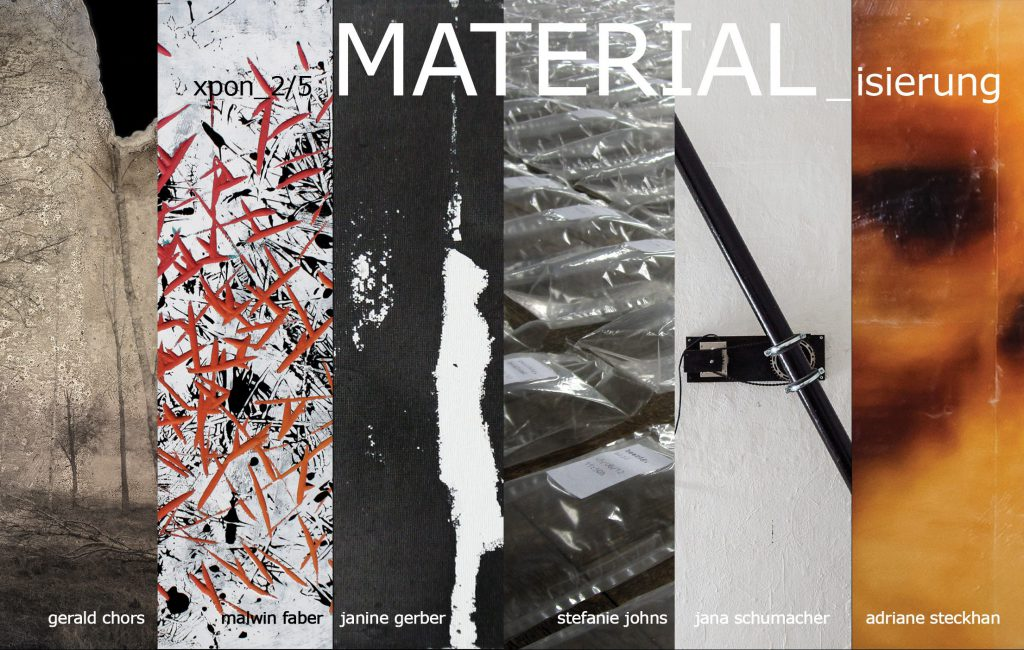 im dialog :: gruppenausstellung materialisierung